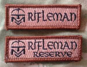 Rifleman patches